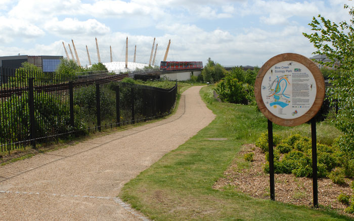 Bow Creek Ecology Park, Lea Valley Walk