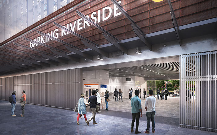 Barking Riverside station