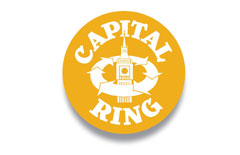 Walking - Capital Ring campaign logo