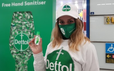 dettol experiential marketing