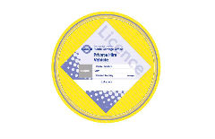 Licence disc image