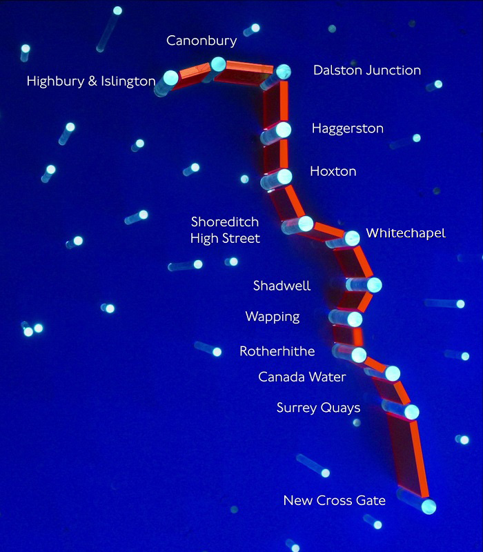 Extended night overground to Highbury & Islington