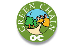 Walking - Green Chain campaign logo