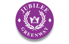 Walking - Jubilee Greenway campaign logo