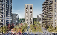 Picture of a proposed building for Kidbrooke development