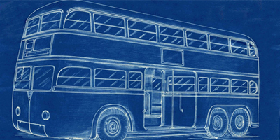 Culture & Heritage bus blueprint image