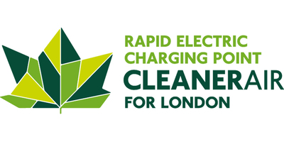 Logo for Rapid Electric Charging Points