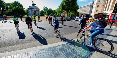 Cycling in London image