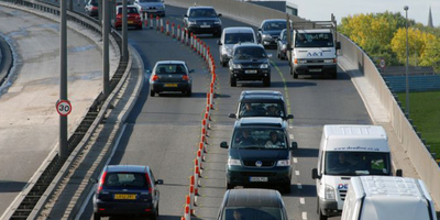 Driving in Visiting London