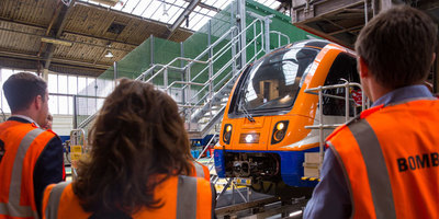 new london overground train