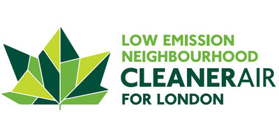 low emission neighbourhoods logo