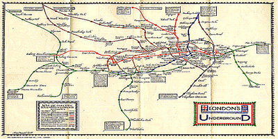 Early Tube map