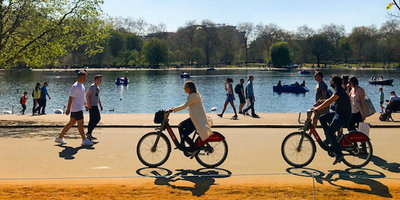 Santander Cycles hyde park