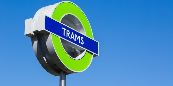 Trams roundel photo