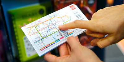 Tube map leaflet