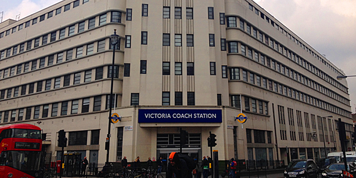 Image result for victoria coach station