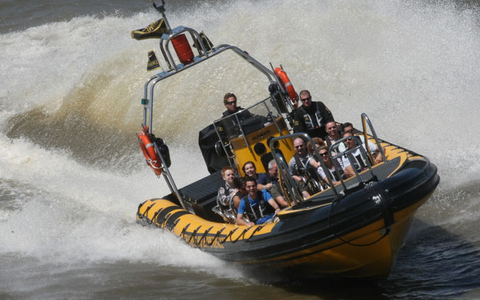 Hold on tight and enjoy the action on a RIB experience