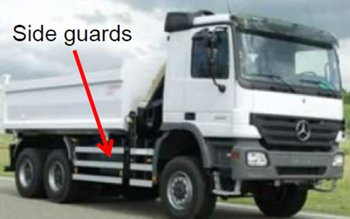 Guidance on side guards