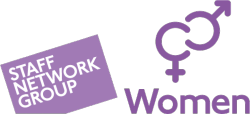 logo for women's staff network group