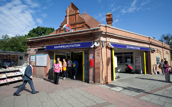 Southfields station