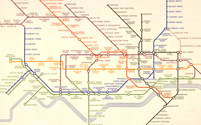 original 1933 tube map