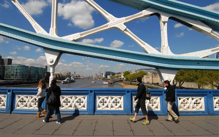 Tower Bridge, Jubilee Walkway & Thames Path