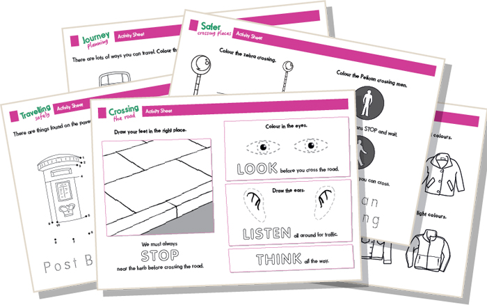 walk about talk about activity sheets