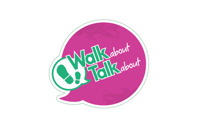 Walk About, Talk About logo