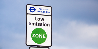 Low Emission Zone sign