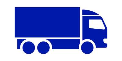 outline of lorry for ultra low emission zone (ulez)