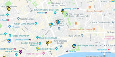Charge points in London on Zap Map