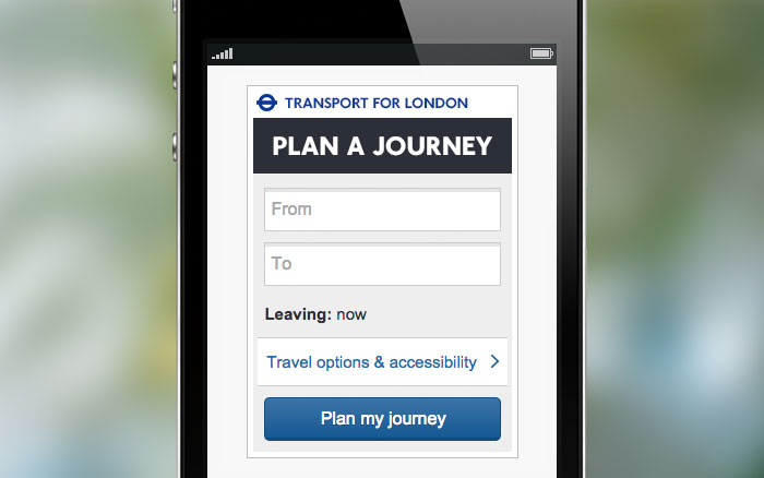 Widgets - Transport for London